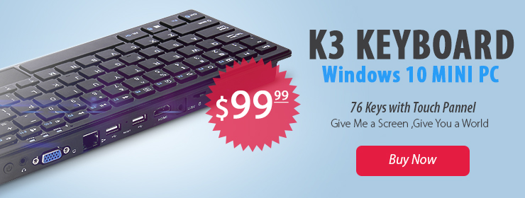 K3 Wintel Keyboard Windows 10