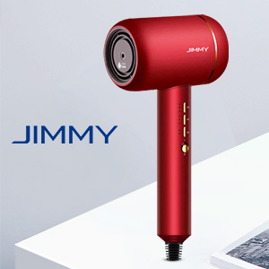 Nano ultrasonic 1800W hair dryer, fast hair drying, infuse hair with nano water ions.