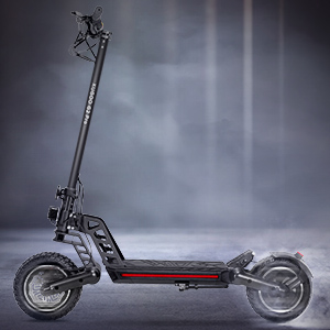 "Brushless 800W Motor, Max Speed 50km/h, Max 50km Range, 13AH Battery, 10"" Pneumatic Tire."