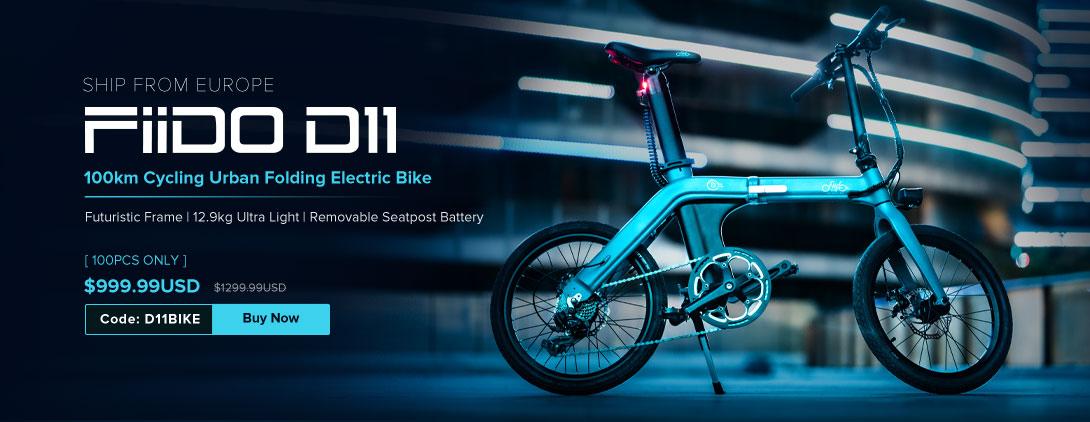 FIIDO D11 EU Launch