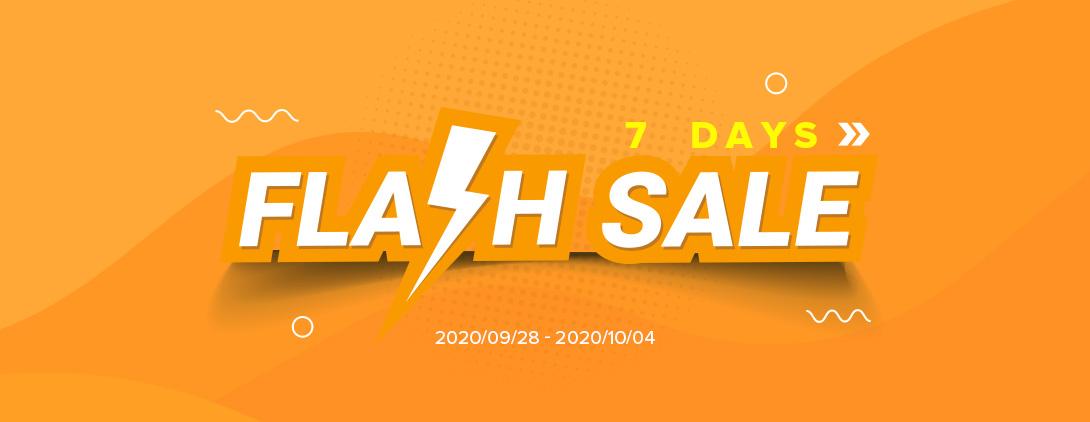 7 days flash sale