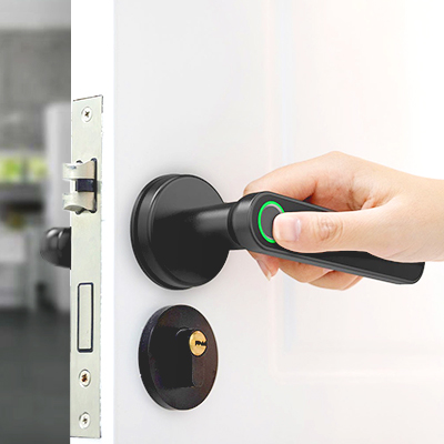 Fingerprint lock, keyless entry mechanical handle with Bluetooth, App support