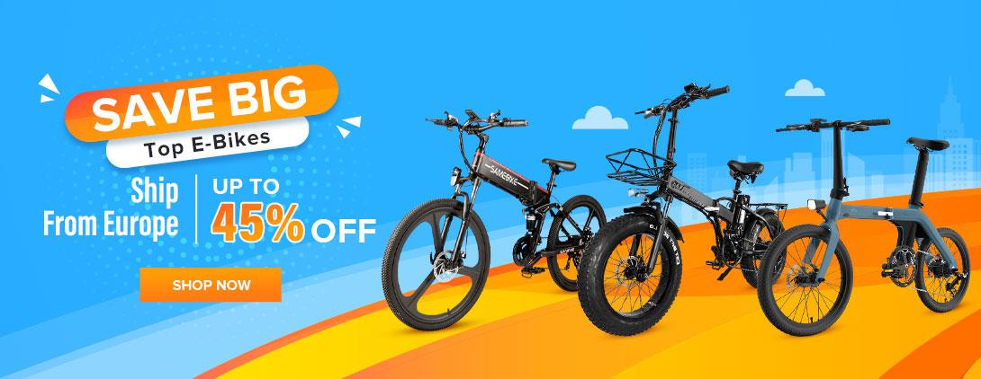 Save Big Top E-bikes