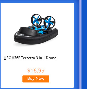 JJRC H36F Terzetto RC Quadcopter RTF One Battery