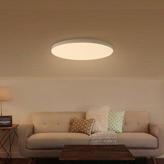 עיצוב פשוט, חומר ABS, שלט רחוק של APP, מתאים לתאורת חדרים 15-25㎡