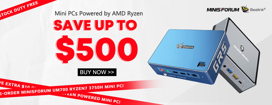 מחשבי AMD Ryzen Mini
