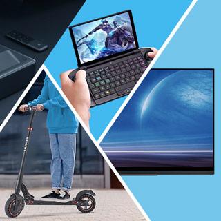 Tot 60% korting op laptops, woon-werkverkeer, consumentenelektronica en meer onmisbare gadgets.